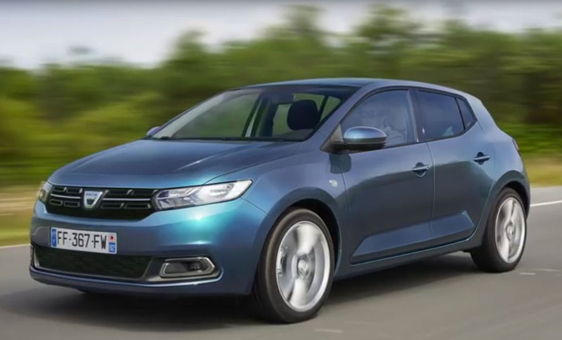 Dacia готовит к выходу Dacia Sandero нового поколения