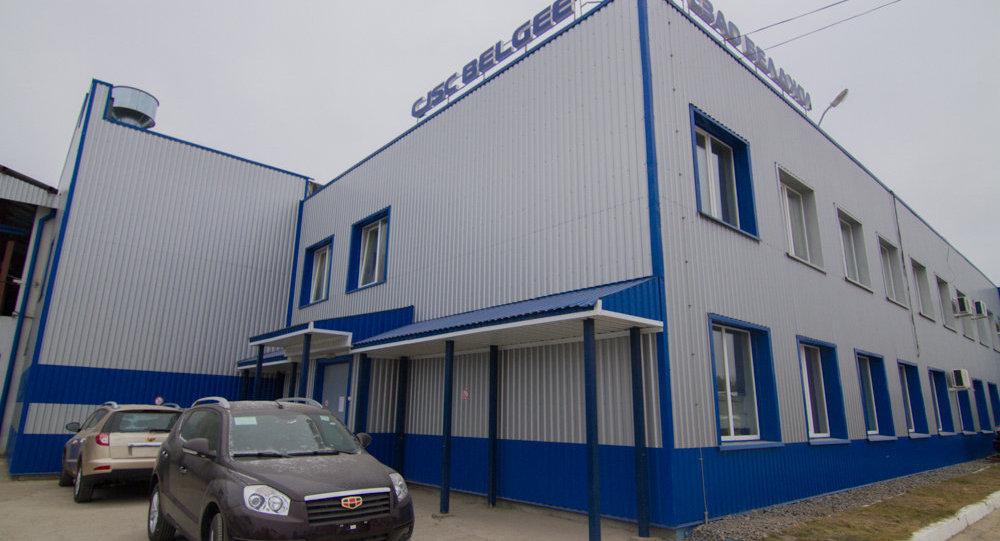 Geely официально открыла свой новый завод в Белоруссии