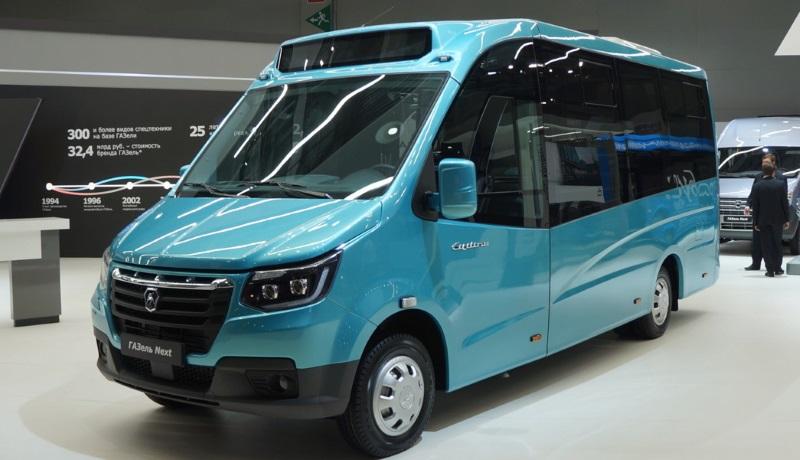 ГАЗ показал микроавтобус в стиле «ГАЗели» нового поколения