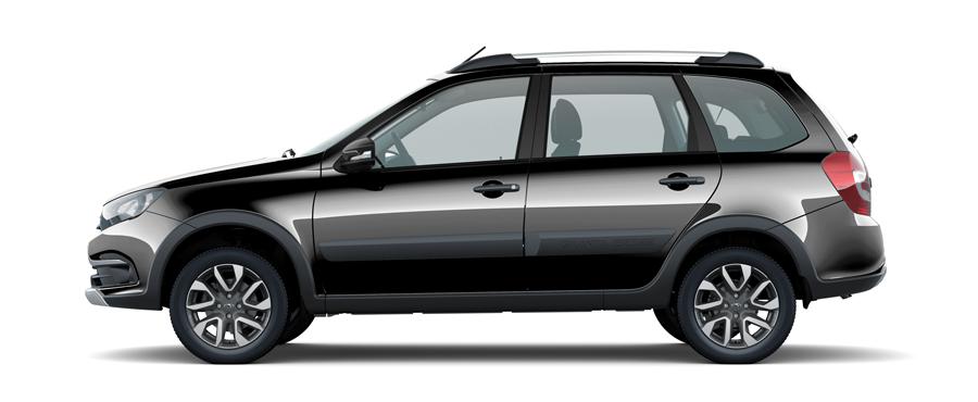 Стала известна цветовая гамма новой Lada Granta Cross