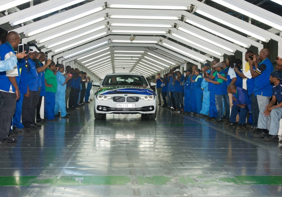 На заводе BMW в Южной Африке прекращена сборка седанов 3-Series