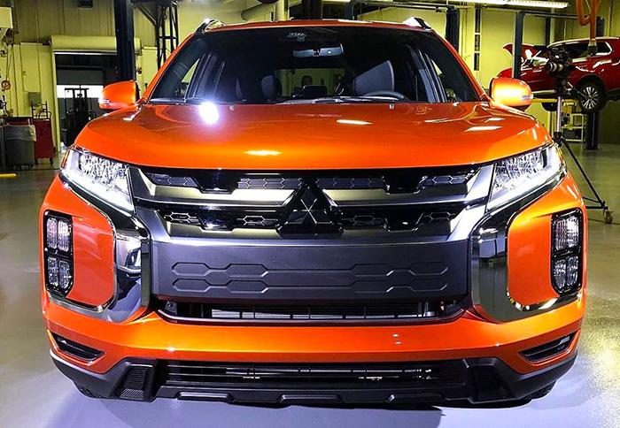 Стало известно, когда на рынок РФ приедет обновленный Mitsubishi ASX