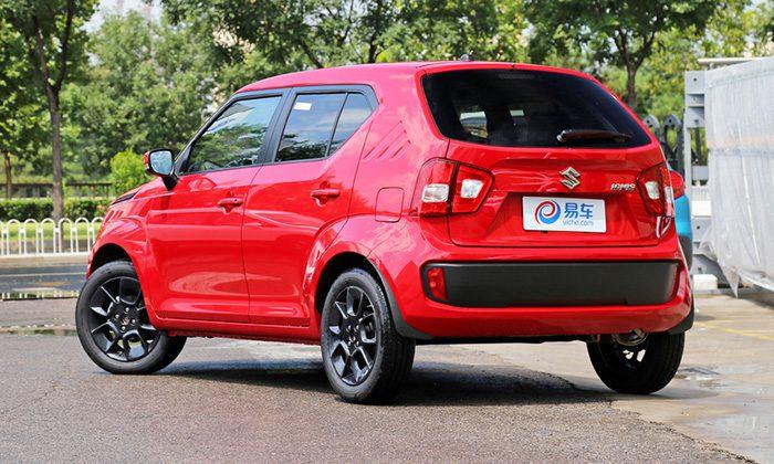 Компания Suzuki начала продажи особого кроссовера Ignis