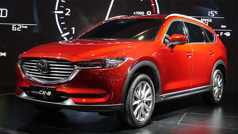 Mazda объявила цены на «удлинённую» версию кроссовера Mazda CX-8
