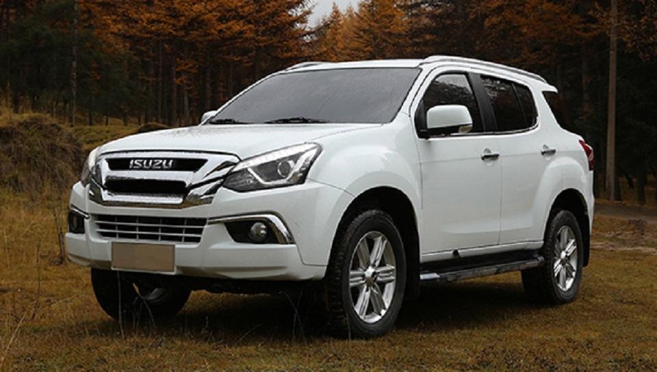 В Китае стартуют продажи обновленного внедорожника Isuzu MU-X