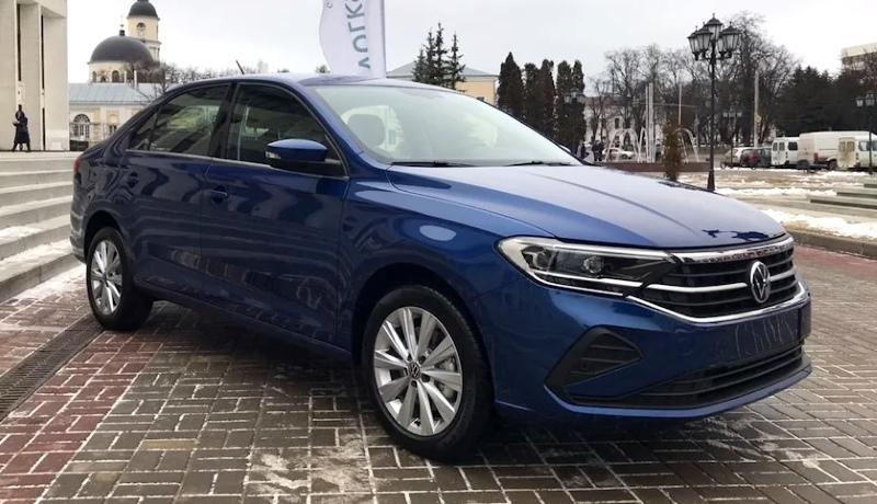 «Живые» фото нового Volkswagen Polo для РФ появились в Сети