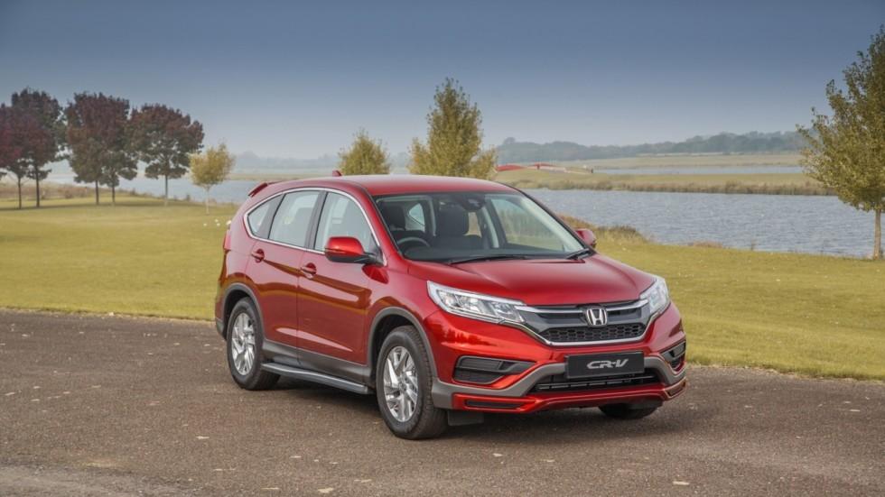 Новая версия S Plus кроссовера Honda CR-V появится на рынке в ноябре