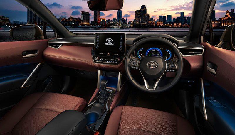 Toyota представила кроссовер Corolla Cross