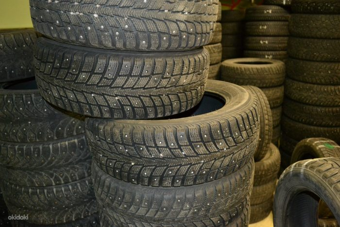 Как правильно выбирать зимние БУ шины?