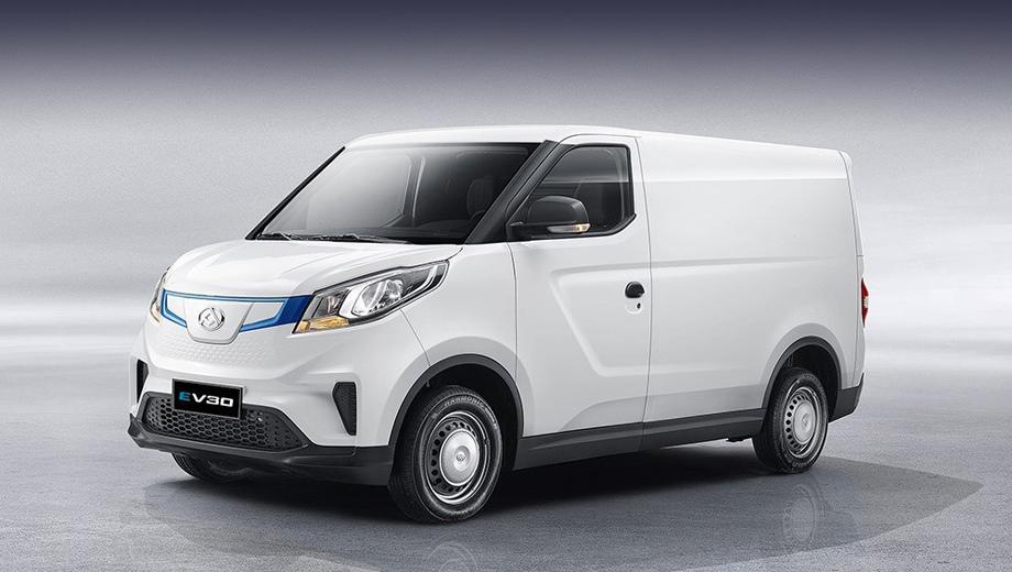 Китайская компания Maxus выпустила городской электрический фургон