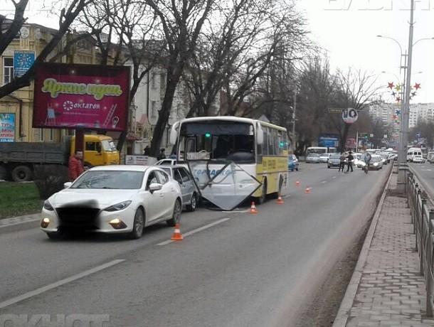 В тройном ДТП в Пятигорске пассажир автобуса получил травмы