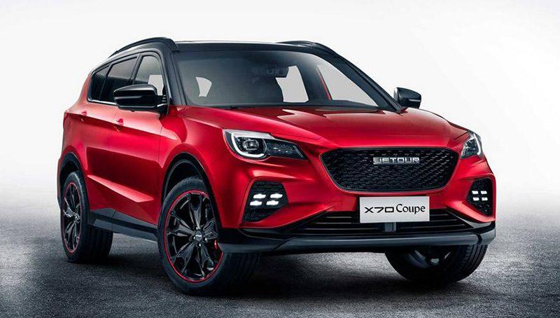 Chery анонсировал новое кросс-купе Jetour X70 Coupe
