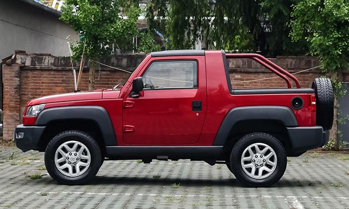 BAIC готовит к дебюту новый аналог модели Jeep Wrangler