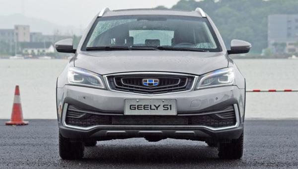 Новый компактный кроссовер Geely S1 представили в Гуанчжоу
