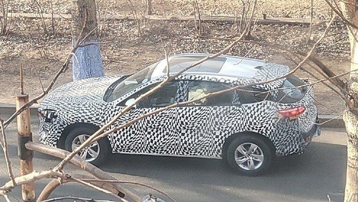 Компания Zotye готовит оригинальный SUV с собственным дизайном