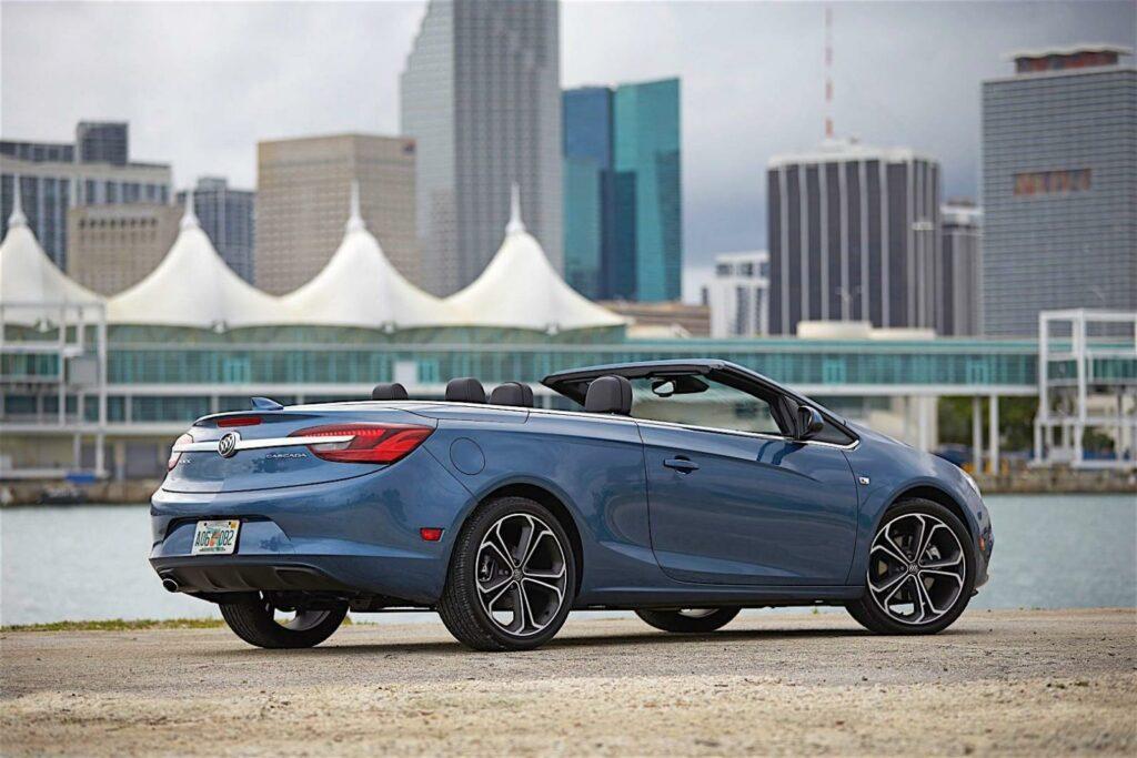 Buick прекращает производство кабриолета Buick Cascada