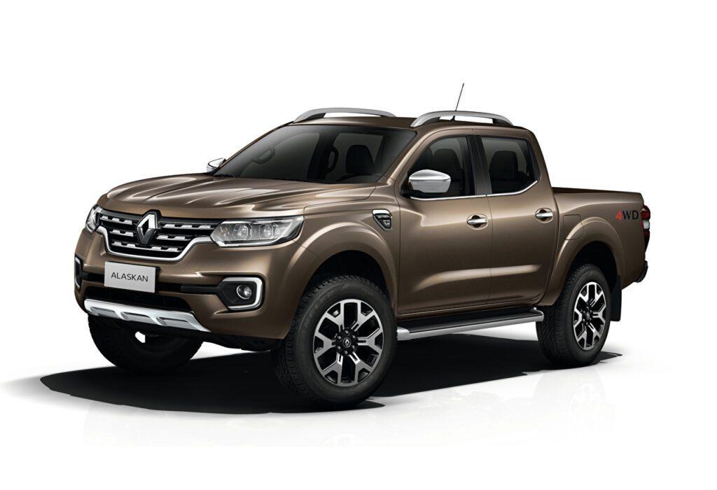 Обновленный пикап Renault Alaskan представлен официально