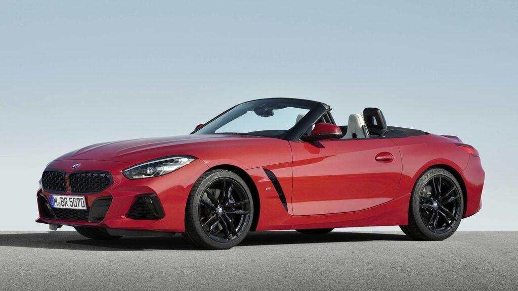 BMW представила родстер BMW Z4 нового поколения