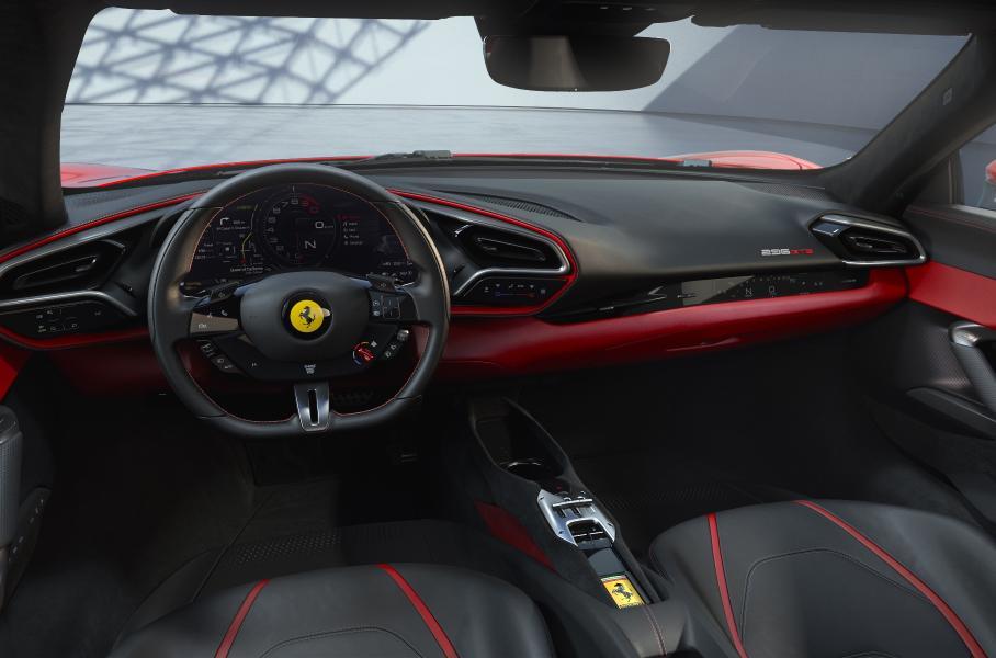 Бренд Ferrari представил новое купе Ferrari 296 GTB с гибридным V6