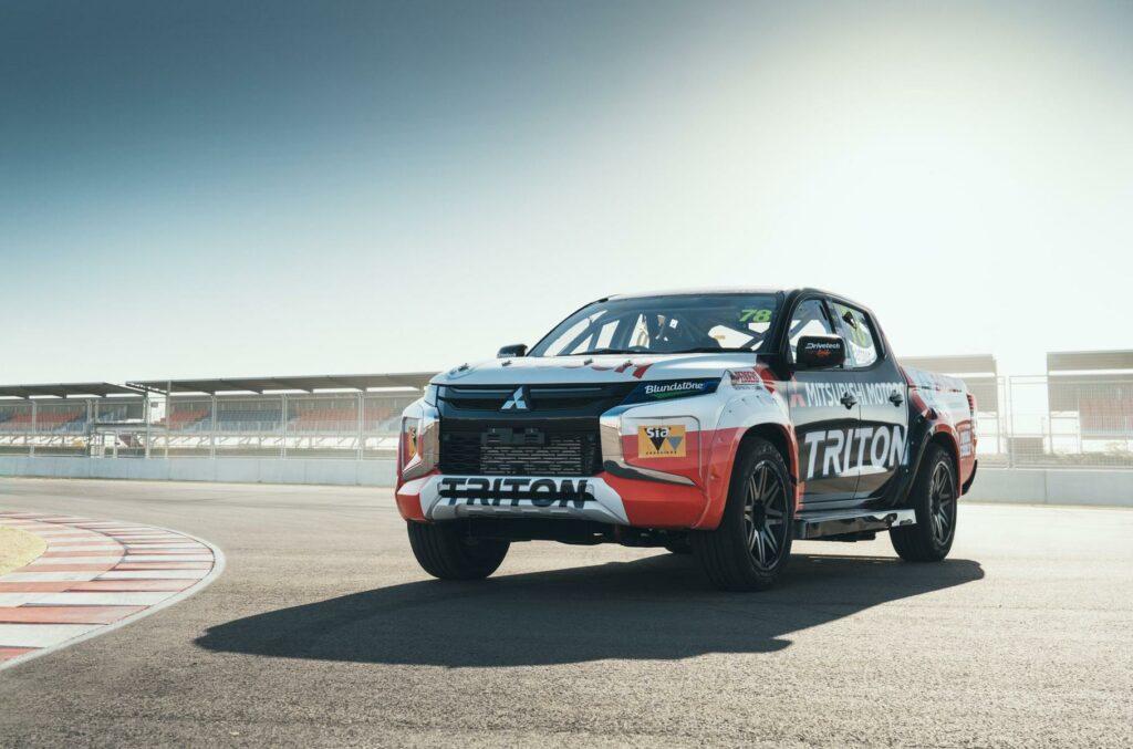 Обновленный пикап Mitsubishi L200 будет принимать участие в гонках