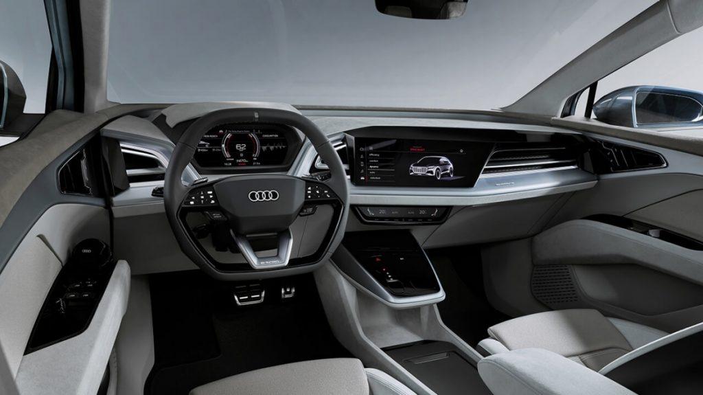 Audi начала серийное производство нового электрокроссовера Audi Q4 e-tron