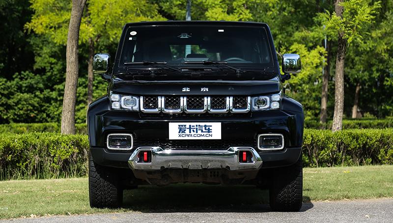 BAIC представит роскошную копию внедорожника Jeep Wrangler