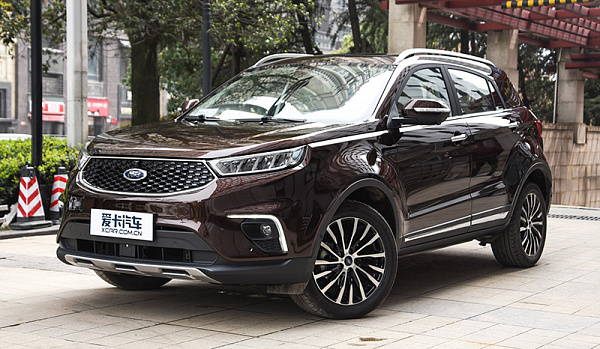 Ford Territory на платформе от JMC стал бестселлером сегмента SUV бренда