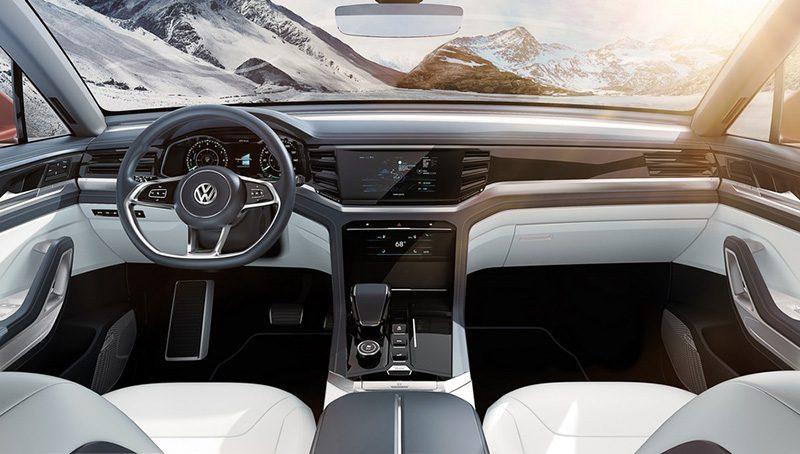 Конкурента BMW X6 от Volkswagen показали на официальных фото
