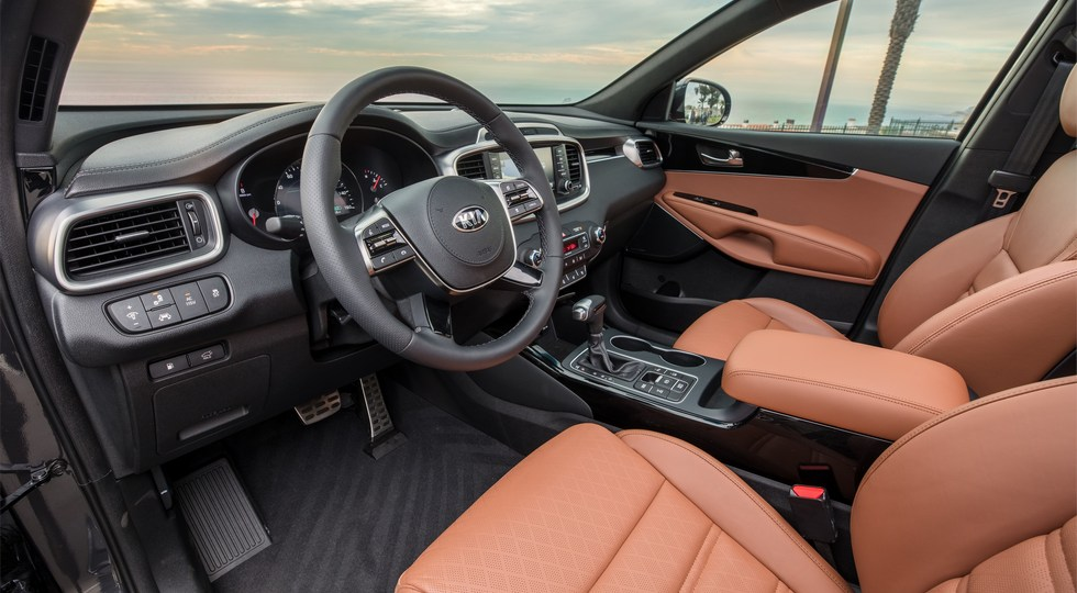 Kia представила обновленный кроссовер Kia Sorento для США