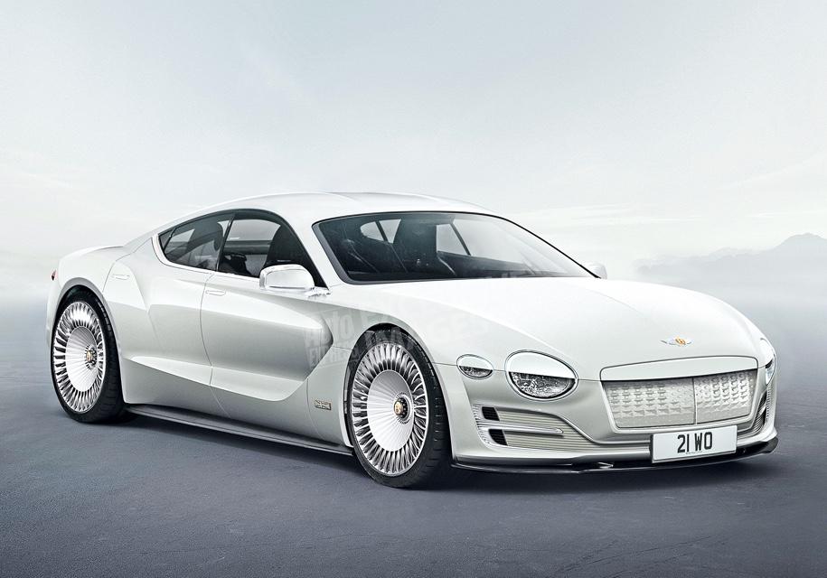 Первым электромобилем Bentley станет купе на базе Porsche Mission E