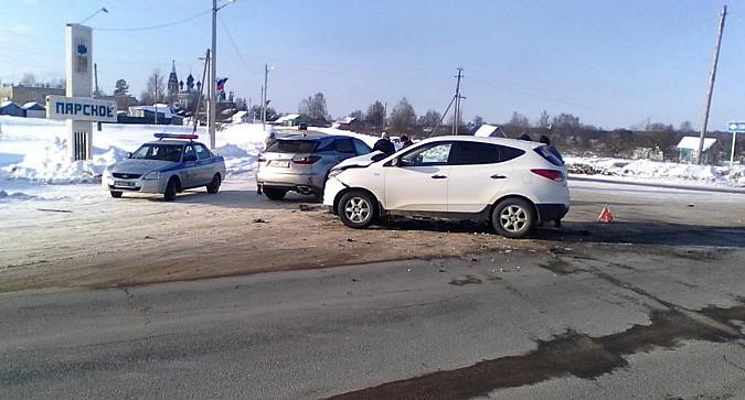 Дама на «Лексусе» спровоцировала ДТП на трассе Ковров-Кинешма
