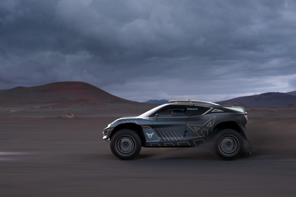 Cupra представила концепт внедорожника Tavascan для серии гонок Extreme E