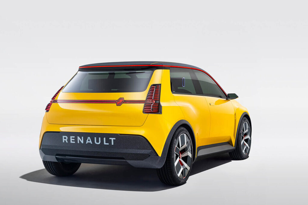Новый электрический кроссовер Renault 5 выйдет по цене около 20 тыс. евро