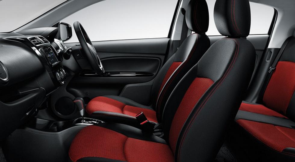 Бюджетный Mitsubishi Mirage получил особую версию Mirage Limited Edition