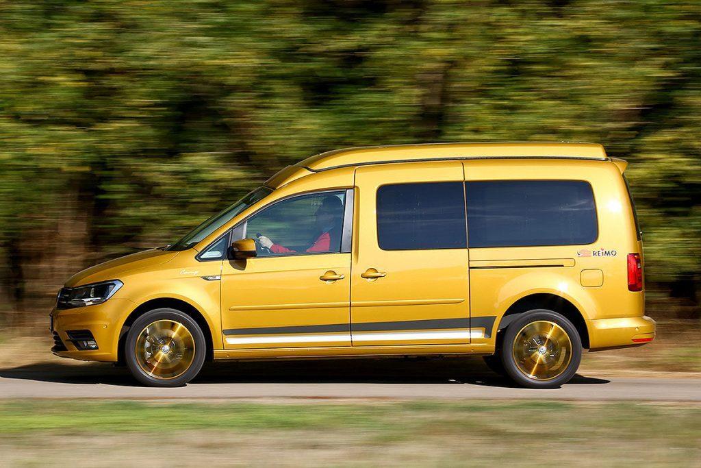 Volkswagen Caddy превратили в автомобиль для путешествий