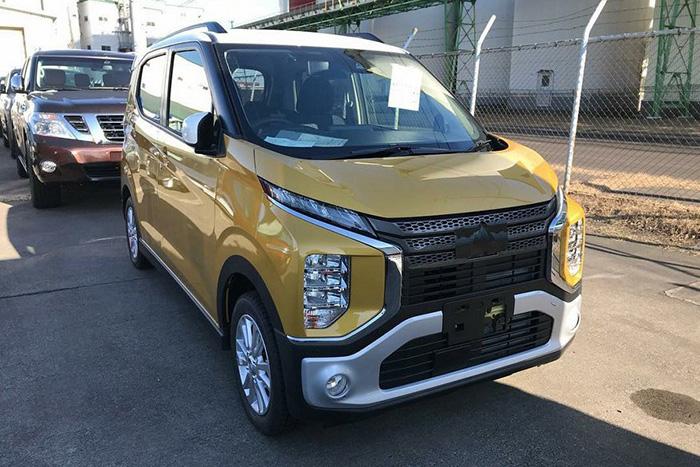 Mitsubishi готовит к дебюту уменьшенную копию обновленной Delica D:5