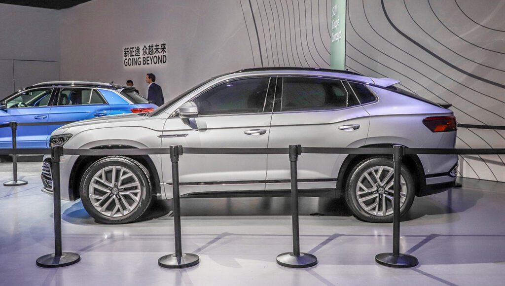 Volkswagen привезла на автосалон в Шанхай кросс-купе Tharu