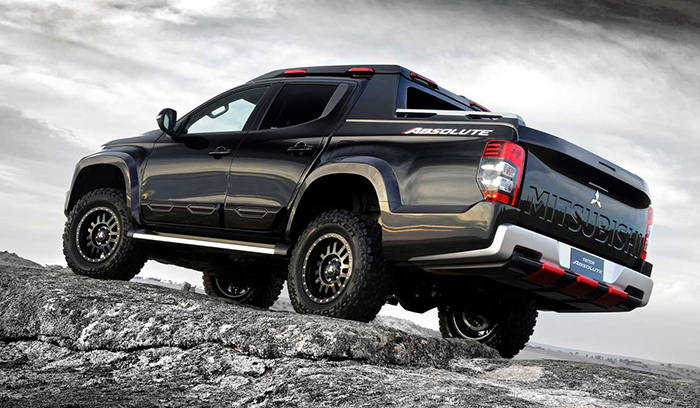 Mitsubishi показала будущего конкурента Ford Ranger Raptor