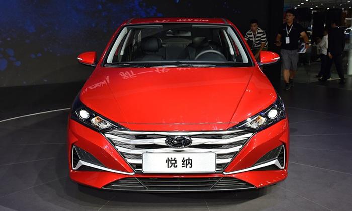 Рестайлинговый седан Hyundai Solaris 2020 добрался до Китая