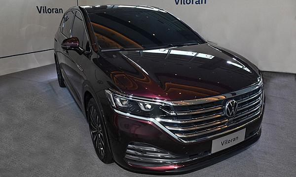 Объявили дату начала продаж минивэна Volkswagen Viloran