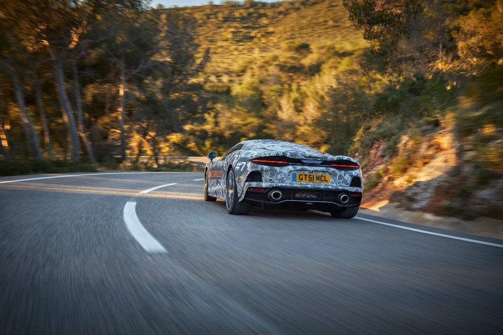 McLaren анонсировала новый суперкар Grand Tourer