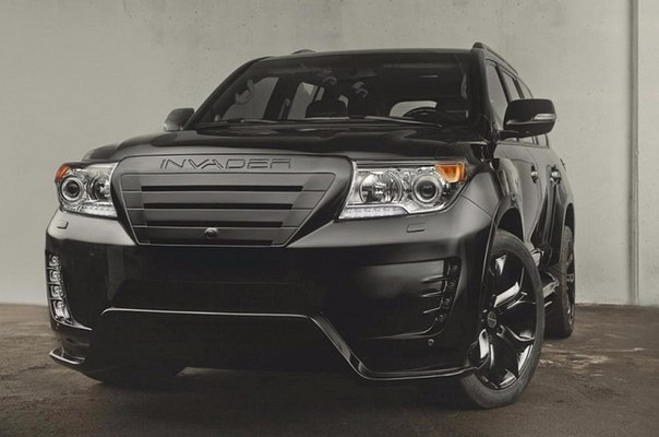 Внешний тюнинг Toyota Land Cruiser 200 - Ощутите разницу