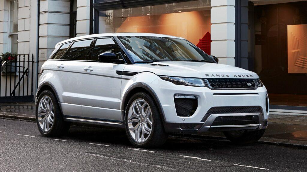 Range Rover Evoque назван самым угоняемым автомобилем в России