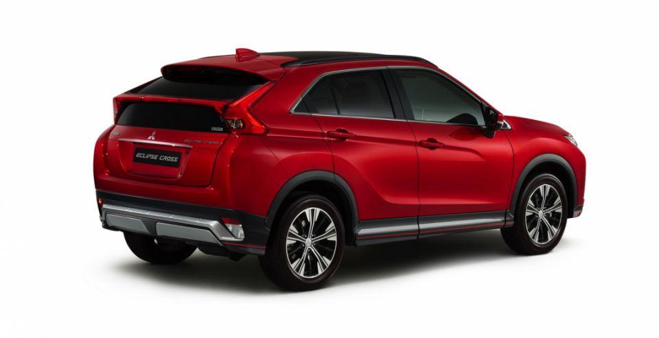 Mitsubishi в РФ начала продажи кроссовера Mitsubishi Eclipse Cross