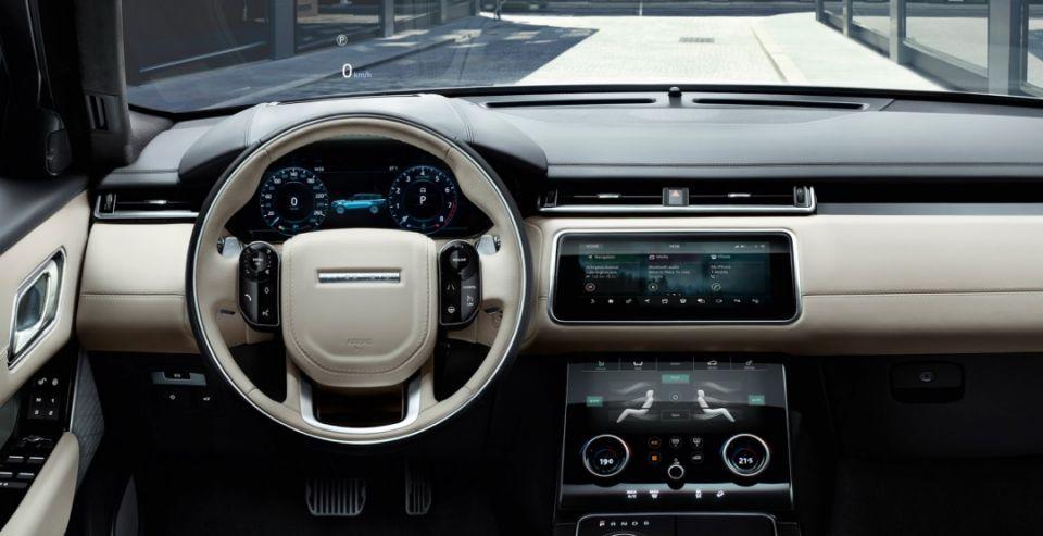 Стартовали российские продажи нового кроссовера Range Rover Velar