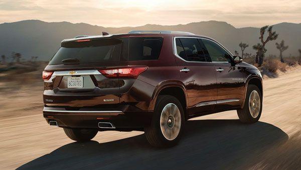 Новый кроссовер Chevrolet Traverse появится в России в 2018 году