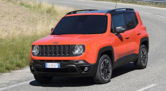 Jeep переписала рублевые цены на модели Grand Cherokee и Renegade