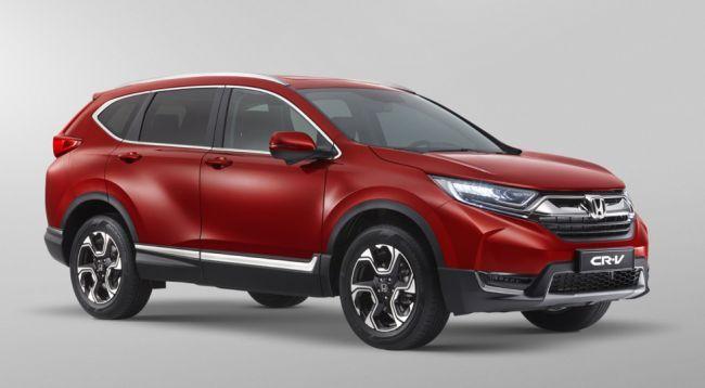 Кроссовер Honda CR-V подорожал на рынке РФ на 30 тысяч рублей