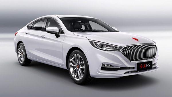 Перелицованный седан Мазда  6 появится нарынке  под брендом Hongqi