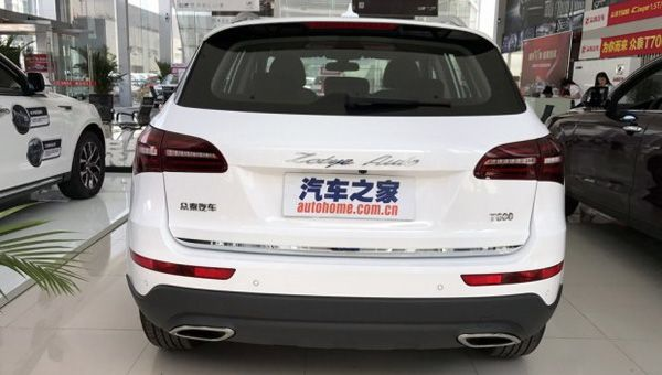 В Россию приедет новый кроссовер Zotye Z600 Coupe